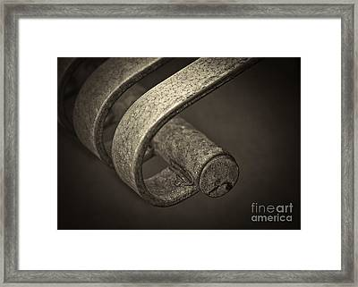 Hooked. Framed Print by Clare Bambers