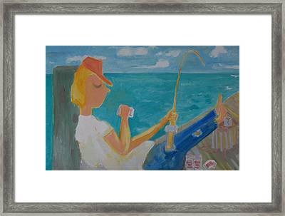 Hooked Framed Print by Jay Manne-Crusoe