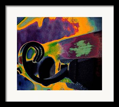 Coat Hanger Digital Art Framed Prints