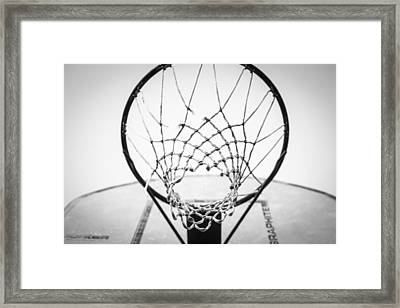 Hoop Dreams Framed Print by Susan Stone