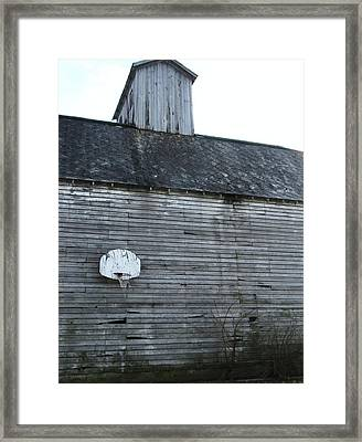 Hoops Number Two Framed Print by Todd Sherlock