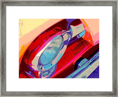 Hoots Crusin Central Framed Print by Chuck Re