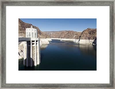 Hoover Dam Framed Print by Gloria & Richard Maschmeyer