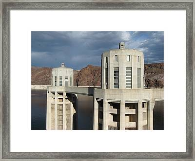 Hoover Dam Framed Print by Michelle Wolff