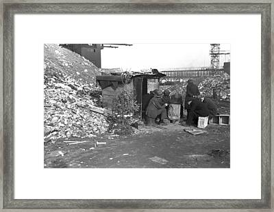 Hooverville At East 12th Street, New Framed Print