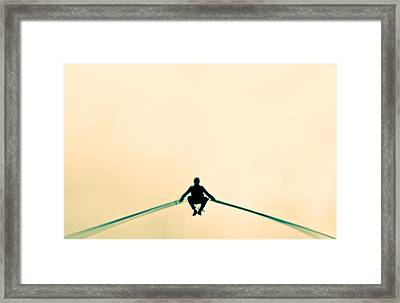 Framed Print featuring the photograph Hop by Justin Albrecht