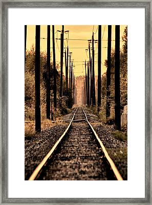 Hop On Framed Print