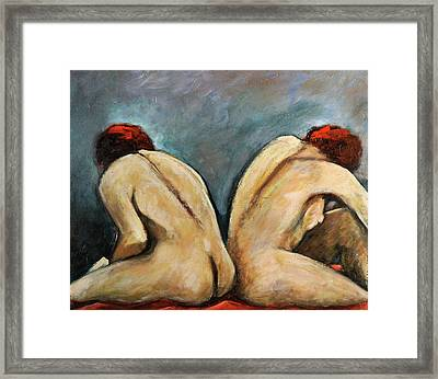 Hope And Sorrows In Silver Days Framed Print by William Sosa