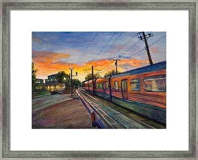 Hope Crossing Framed Print