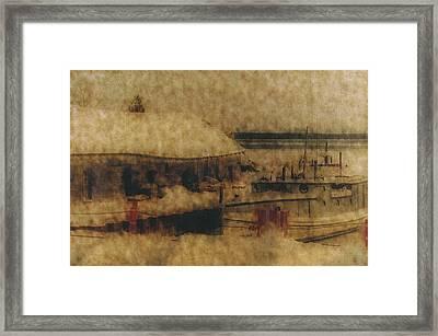 Hope For Fish Framed Print