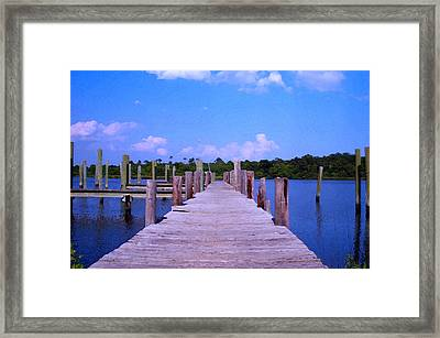 Framed Print featuring the photograph Hope For The Future by Brian Wright