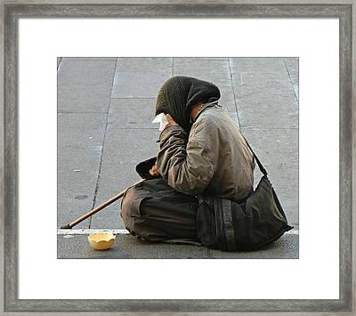 Hope For The Hopeless Framed Print by Mindy Newman