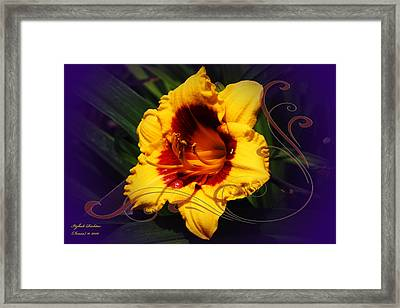 Framed Print featuring the photograph Hope by Itzhak Richter