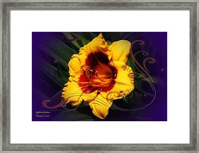 Hope Framed Print by Itzhak Richter