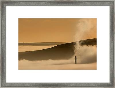 Hope Valley Framed Print by Andy Astbury