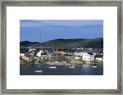 Hopedale, Newfoundland & Labrador Framed Print