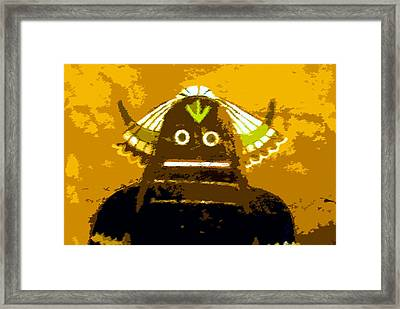 Hopi Kachina With Feathers Framed Print