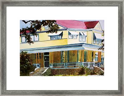 Hopkins House Framed Print
