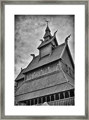 Hopperstad Stave Church Framed Print