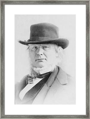 Horace Greeley 1811-1872 American Framed Print