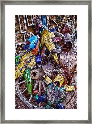 Horning In Framed Print by Ken Williams