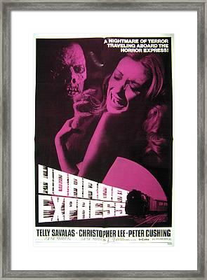Horror Express, Juan Olaguivel, Helga Framed Print by Everett
