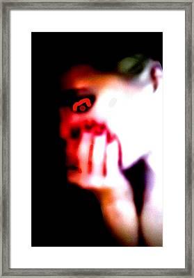 Horror Framed Print by Gallery EDGE