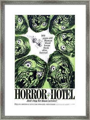 Horror Hotel, Aka The City Of The Dead Framed Print by Everett