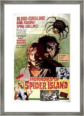 Horrors Of Spider Island, Aka Ein Toter Framed Print by Everett