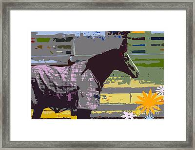 Horse Art For Children Framed Print