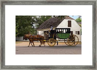 Horse Drawn Carriage Photograph By Sally Weigand