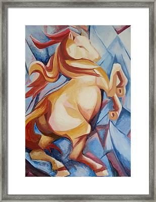 Horse For Nicki Framed Print