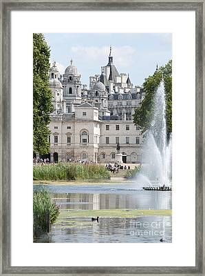Horse Guards Framed Print by Andrew  Michael