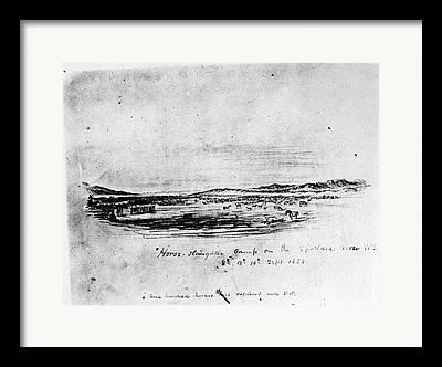 Spokane Drawings Framed Prints