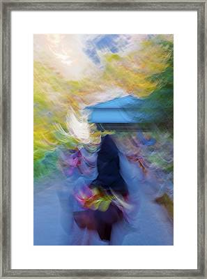 Horseback Shades And Vibes Framed Print by Kantilal Patel