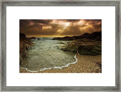 Horseley Cove Framed Print by Mark Leader