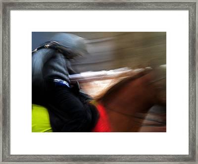 Horserider Framed Print by Colette V Hera  Guggenheim