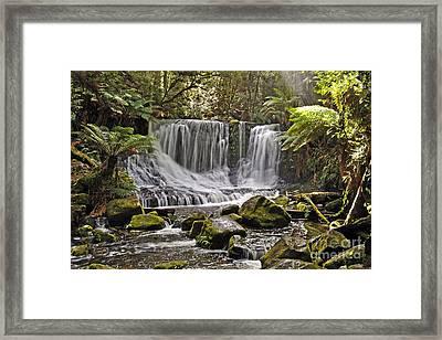 Horseshoe Falls Framed Print by Raoul Madden