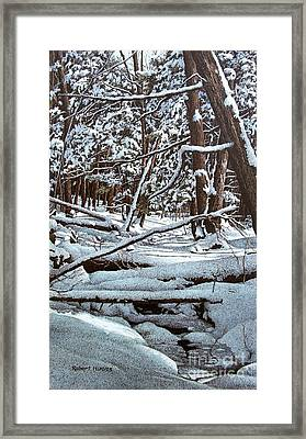 Horseshoe Valley Framed Print