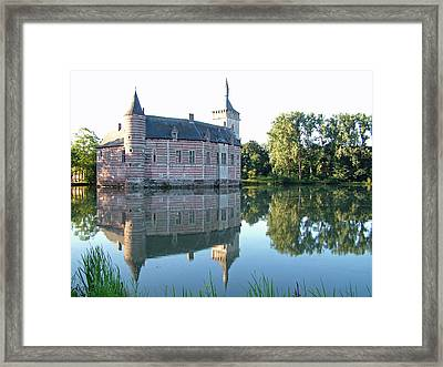 Framed Print featuring the photograph Horst Castle Belgium by Joseph Hendrix