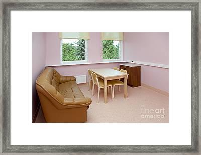 Hospital Waiting Room Framed Print by Jaak Nilson
