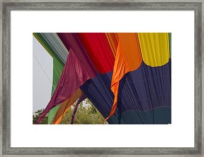 Hot Air Colors Framed Print