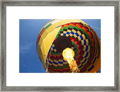 Hot Air Framed Print by Rick Berk