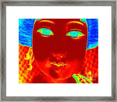 Framed Print featuring the photograph Hot Asian Lady by Renee Trenholm