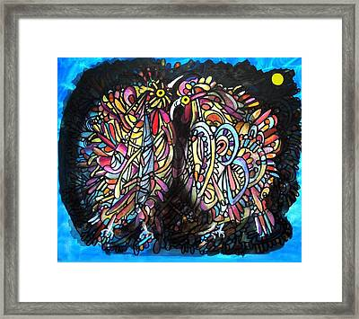Hot Competition Framed Print by Aquira Kusume