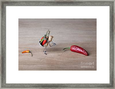 Hot Delivery 01 Framed Print by Nailia Schwarz