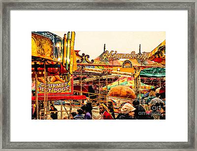 Hot Dogs Framed Print by Jim Moore