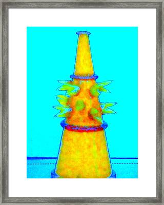 Hot Glass 72 Framed Print by Randall Weidner
