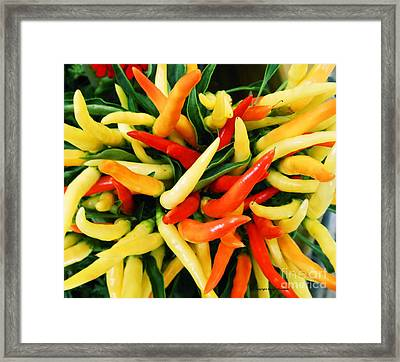 Hot Framed Print