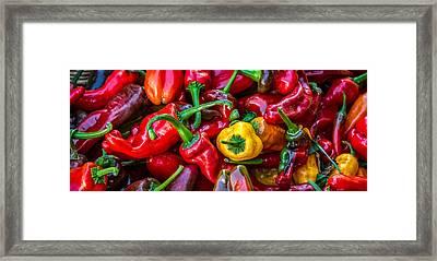 Hot Pepper Time Framed Print by Ken Stanback